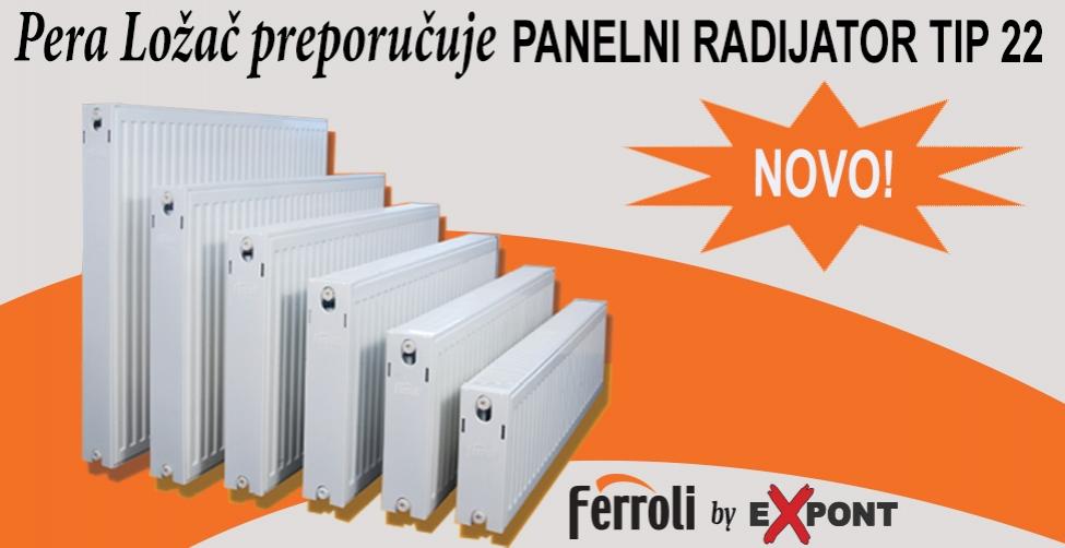 Ferroli panelni radijator