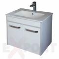 Ormar za kupatilo donji deo konzolni 51cm LIGHT i lavabo SLIM 35-870
