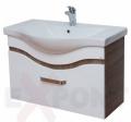 Ormar za kupatilo donji deo konzolni 80 cm SONOMA i lavabo TULIP 35-381