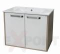 Ormar za kupatilo donji deo konzolni Leon 61 cm i lavabo Slim 35-915