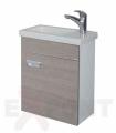 Ormar za kupatilo KARAMEL donji deo konzolni 25x45 cm i lavabo ALVIT 35-195