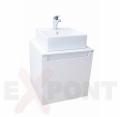 Ormar za kupatilo ART donji deo konzolni 50 cm i umetnički lavabo 35-800-A2