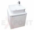 Ormar za kupatilo ART donji deo konzolni 50 cm i umetnički lavabo 35-800-A5