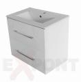 Ormar za kupatilo FIT donji deo konzolni 50x40 cm i lavabo SLIM 35-350