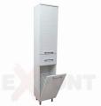 Vertikala za kupatilo LINE 35x190 cm konzolna sa korpom